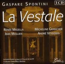 Gasparo Spontini (1774-1851): La Vestale, CD