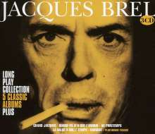 Jacques Brel (1929-1978): Long Play Collection, 3 CDs