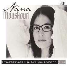 Nana Mouskouri: International Album Collection Plus, 3 CDs