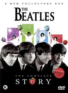 The Beatles: The Complete Story (5DVD + CD), 6 DVDs