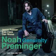 Noah Preminger: Genuinity, CD