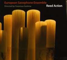 European Saxophone Ensemble: Reed Action, CD