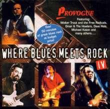 Where Blues Meets Rock 4, CD