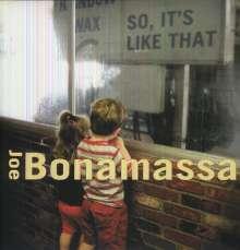 Joe Bonamassa: So, It's Like That, LP