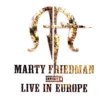 Marty Friedman: Exhibit A: Live In Europe, CD