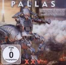 Pallas: XXV (Limited Edition), 1 CD und 1 DVD