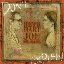 Beth Hart & Joe Bonamassa: Don't Explain (180g), LP