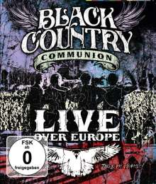 Black Country Communion: Live Over Europe, Blu-ray Disc
