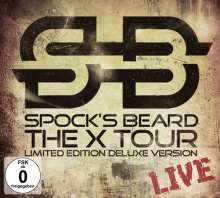 Spock's Beard: The X Tour-Live (Limited Deluxe Edition) (2CD + DVD), 3 CDs