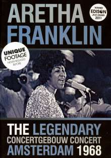 Aretha Franklin: The Legendary Concertgebouw 1968, DVD