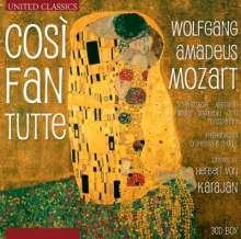 Wolfgang Amadeus Mozart (1756-1791): Cosi fan tutte, CD