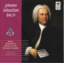Royal Symphonic Band of the Belgian Guides - Johann Sebastian Bach, CD
