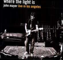 John Mayer: Where The Light Is - Live In Los Angeles (180g), 4 LPs