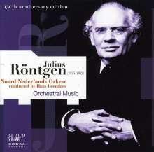 Julius Röntgen (1855-1932): Symphonien c-moll & a-moll, CD