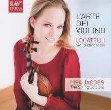 Pietro Locatelli (1695-1764): Violinkonzerte op.3 Nr.1,2,4, CD