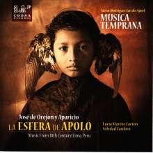 """Jose de Orejon y Aparicio (1705-1765): Kantate """"Ah, de la esfera de Apolo!"""", CD"""