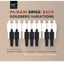 Johann Sebastian Bach (1685-1750): Goldberg-Variationen BWV 988 für Chor & Ensemble, CD