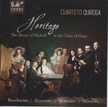 Cuarteto Quiroga - Heritage, CD