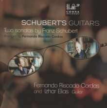 Franz Schubert (1797-1828): Klaviersonaten D.664 & 960 (arr. für 2 Gitarren), CD