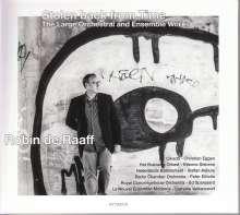 """Robin de Raaff (geb. 1968): Orchesterwerke und Werke für Ensemble """"Stolen back from Time"""", 2 CDs"""