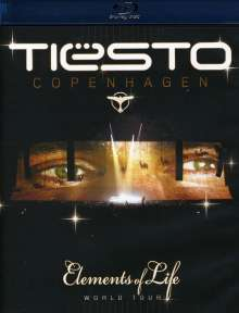 Tiësto: Copenhagen (Elements Of Life World Tour) (Blu-ray), 2 Blu-ray Discs