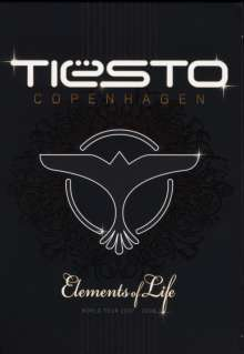 Tiësto: Copenhagen - Elements Of Life (World Tour 2007 - 2008), 2 DVDs