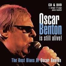 Oscar Benton: The Best Blues Of.. (CD+DVD), 1 CD und 1 DVD