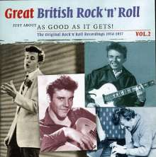 Great British Rock'n'Roll Vol. 2 - Just About As Good As..., 2 CDs