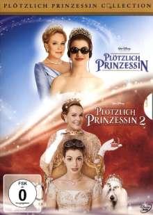 Plötzlich Prinzessin 1 & 2, 2 DVDs