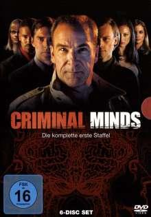 Criminal Minds Staffel 1, 6 DVDs