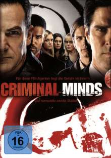 Criminal Minds Season 2, 6 DVDs