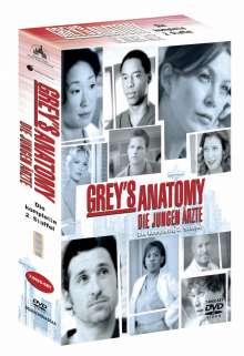 Grey's Anatomy Season 2, 8 DVDs