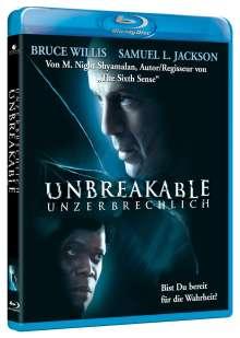 Unbreakable - Unzerbrechlich (Blu-ray), Blu-ray Disc