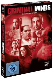 Criminal Minds Season 3, 5 DVDs