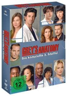 Grey's Anatomy Season 3, 7 DVDs