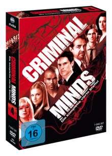 Criminal Minds Staffel 4, 7 DVDs