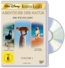 Die Wüste lebt (Disney Naturfilm Klassiker Vol.1), 2 DVDs