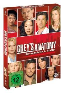 Grey's Anatomy Season 4, 5 DVDs
