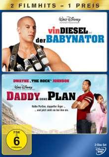 Daddy ohne Plan / Der Babynator, 2 DVDs