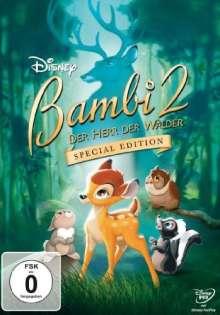 Bambi 2 - Der Herr der Wälder, DVD