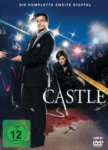 Castle Staffel 2, 6 DVDs