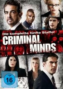 Criminal Minds Season 5, 6 DVDs