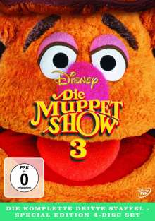 Die Muppet-Show Season 3, 4 DVDs