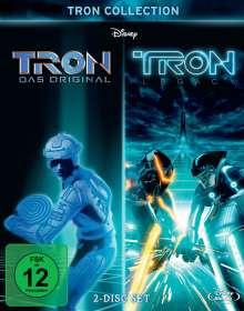 TRON: Das Original / TRON: Legacy (Blu-ray), 2 Blu-ray Discs