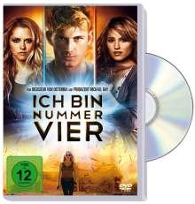 Ich bin Nummer Vier, DVD