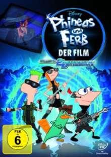 Phineas und Ferb - Der Film: Quer durch die 2. Dimension, DVD