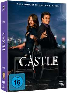Castle Staffel 3, 6 DVDs