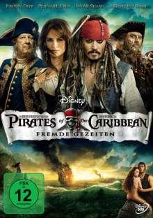 Pirates Of The Caribbean 4 - Fremde Gezeiten, DVD