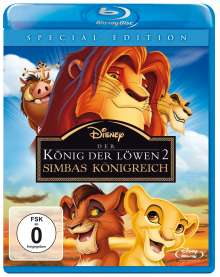König der Löwen 2: Simbas Königreich (Blu-ray), Blu-ray Disc