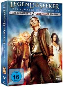 Legend Of The Seeker Staffel 2, 6 DVDs